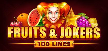 Fruits & Jokers:100 Lines
