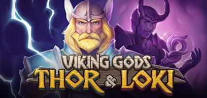 Viking Gods Thor & Loki